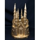 Large Gold Castle Centerpiece