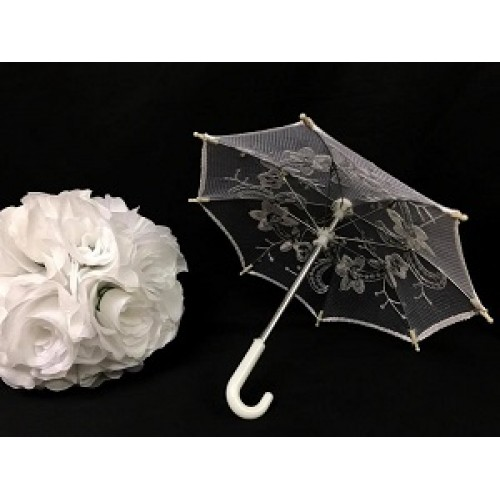 10 lace umbrella centerpiece decoration for baby shower bridal shower sweet 16
