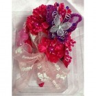 Baby Shower Butterfly Corsage with Organza Flower