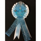 Baby Blue Prince Rhinestone Badge