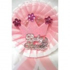 Baby Pink Princess Badge