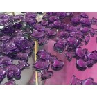 48 Purple Baby Shower Storks Embellishment Favors Acrylic Confetti Gift Spread