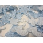 Blue Baby Carriage Embellishment Favor Decorations