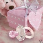 Crystal Pacifier Girl Baby Shower Favor