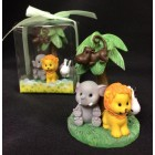 Jungle Animals Figurine Favor