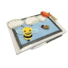 Bumble Bee Ethnic Baby Shower, Birthday Guest Book Signature Keepsake Gift