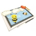 Bumble Bee Baby Shower Baby Birthday Guest Book Signature Keepsake Gift