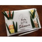 Baby Shower Jungle Animal Signature Guest Book Keepsake