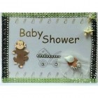 Baby Shower Guest Book w/ Monkey