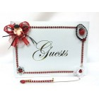 Ladybug Baby Shower Signature Guest Book It's a Girl Keepsake