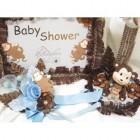 Baby Shower Baby Boy Monkey Set