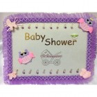 Baby Shower Girl Owl Guest Book