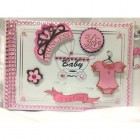 Baby Shower Princess Guest Book