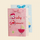 Pink or Blue Baby Shower 3D Invitations Party Supplies with Envelopes 10 Ct