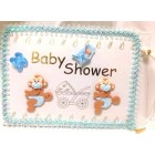 Baby Monkey with Diaper Guest Book