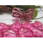 Acrylic Bow Charms Party Supplies