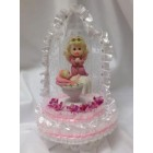 Christening Angel with Baby Centerpiece