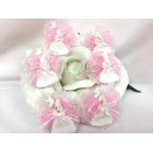 12 Pink Baptism Girl Capia Favor Corsage Chest Favors