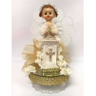 Communion Cake Topper Centerpiece Girl Decoration Gift