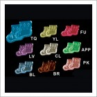 Booties Acrylic Embellishments