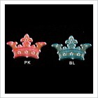 Royal Prince Princess Crown Tiara Embellishments 48 Ct