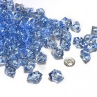 Acrylic Crystal Blue Stone Ice Rocks Table Scatter Party Supply Decoration