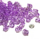 Acrylic Crystal Lavender Stone Ice Rocks Table Scatter Party Supply Decoration