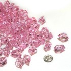 Acrylic Crystal Pink Stone Ice Rocks Table Scatter Party Supply Decoration