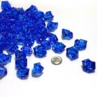 Acrylic Crystal Royal Blue Stone Ice Rocks Table Scatter Party Supply Decoration