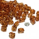 Acrylic Crystal Brown Stone Ice Rocks Table Scatter Party Supply Decoration