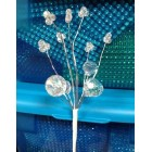 Acrylic Stems Flower Bouquets 4 Ct