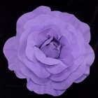 Purple Formed Rose Flower Wedding Centerpiece or Any Occasion 20""