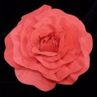 Red Formed Rose Flower Wedding Centerpiece or Any Occasion 20""