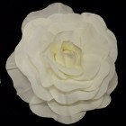 White Formed Rose Flower Wedding Centerpiece or Any Occasion 20""
