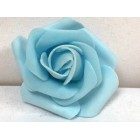 Eight Light Blue Craft Foam Flower Weddings Sweet 16 All Purpose