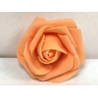 Eight Orange Craft Foam Flower Weddings Sweet 16 All Purpose