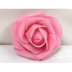 Eight Pink Craft Foam Flowers Weddings Sweet 16 All Purpose