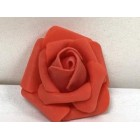 Eight Red Craft Foam Flowers Weddings Sweet 16 All Purpose