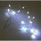 "54"" 20-Head Led White Light Flashing Starry Water Resistant For Birthdays Weddings All Occasions"