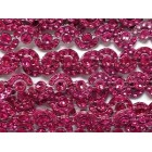 Fuchsia Curved Plastic Bling Trim Craft Trim Multipurpose Cake Trimming 8 Yards