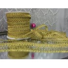 10 Yards Craft Trims Gold Loop Wedding Sweet 16 Party Supplies