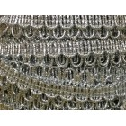10 Yards Craft Trims Silver Loop Wedding Sweet 16 Party Supplies