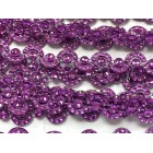 Purple Curved Plastic Bling Trim Craft Trim Multipurpose Cake Trimming 8 Yards