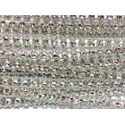 Silver Round Plastic Bling Trim Craft Trim Multipurpose Cake Trimming 8 Yards