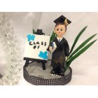 Graduation Boy Class Of Cake Topper or Centerpiece Gift Keepsake