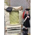 Graduation Girl Figure & Diploma Frame Party Favor or Keepsake Gift