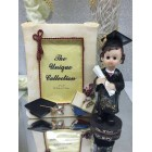 Graduation Girl Figure & Frame Party Favor or Keepsake Gift