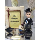 Graduation Boy Figure & Frame Party Favor or Keepsake Gift