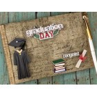 Graduation Day Class of Guest Book and Pen Keepsake Gift