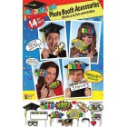 Graduation Photo Booth Kit Party Decoration Party Accessory